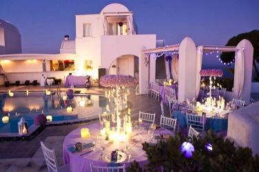 salle de mariage avec piscine